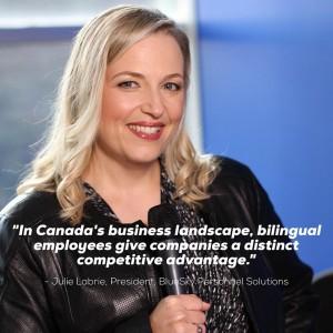 Julie Labrie Bilingual Job Fair Canada