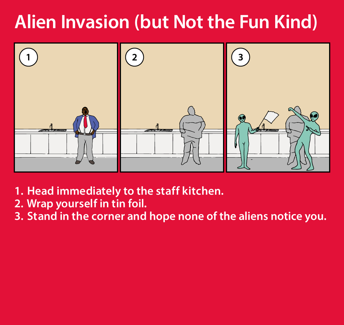 True Story: Zombies and Aliens Take Over an Employee Manual